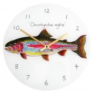 Richard Bramble Rainbow Trout Clock