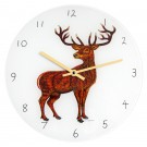 Stag Clock by Richard Bramble