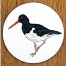 Oystercatcher Standing Coaster by Richard Bramble