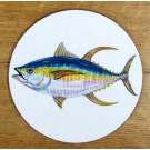 Yellowfin Tuna Coaster by Richard Bramble