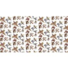 Richard Bramble Gamebirds Linen Fabric (made to order)