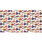 Richard Bramble Shellfish Linen Fabric (made to order)