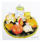 Richard Bramble Cheese Board Greeting Card