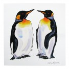 Richard Bramble King Penguins Greeting Card