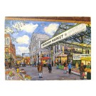 Richard Bramble Greeting Card Borough Market Stoney Street towards Monmouth Coffee View