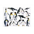 Richard Bramble Penguins Greeting Card