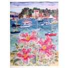 Poole Harbour Rock Roses Greeting Card