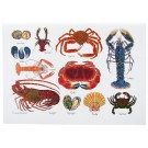 Richard Bramble Shellfish Greeting Card Large size
