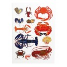 Richard Bramble Shellfish Greeting Card medium size