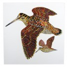 Richard Bramble Woodcock Greeting Card