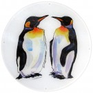 King Penguin round board 30cm (12 inches) in diameter