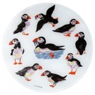 Puffins round board 30cm (12 inches) in diameter