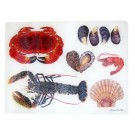 Jersey Pottery Licensed Design Shellfish Heatstand & Surface Protector