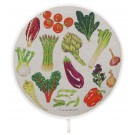 Richard Bramble Vegetables Aga style linen hob pad