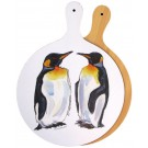 King Penguin Melamine Board by Richard Bramble
