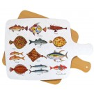 Sea Fish Melamine Board by Richard Bramble