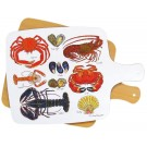 Shellfish Melamine Board by Richard Bramble