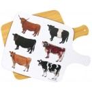 Cows Melamine Board by Richard Bramble