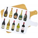 Wines Melamine Boards by Richard Bramble