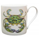 Richard Bramble Blue Crab Mug (large size)