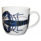Blue Lobster Mug (medium round sided) end of line