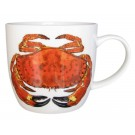 Crab & Lobster Mug (medium size) by Richard Bramble