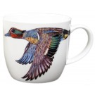 Green-winged Teal Duck Bonechina Mug by Richard Bramble