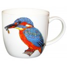 Kingfisher Mug by Richard Bramble right side