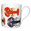 Richard Bramble Lobsters Mug