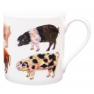 Pigs mug by Richard Bramble