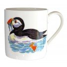 Puffin Mug right side ash