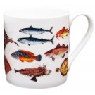 Seafish Mug (large size) by Richard Bramble