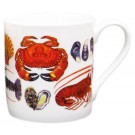 Shellfish Mug by Richard Bramble