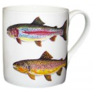 Trout Mug by Richard Bramble right side