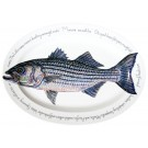 Striped Bass Oval design by Richard Bramble