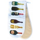 Wines Oven Gloves folded by Richard Bramble