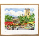 Richard Bramble Borough Market and Southwark Cathedral Limited Edition Print, large size