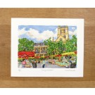 Richard Bramble Borough Market and Southwark Cathedral Limited Edition Print, medium size