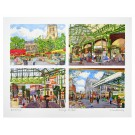 Richard Bramble Borough Market 4 Views limited edition print large size