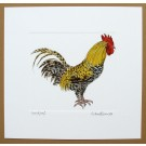 Cockerel or Rooster Print