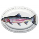 Steelhead Oval plate by Richard Bramble