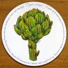 Artichoke Tablemat by Richard Bramble