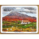 Black House, North Uist, Outer Hebrides Tablemat by Richard Bramble