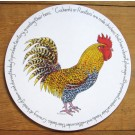 Richard Bramble Cockerel or Rooster Tablemat