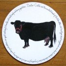Dexter Cow Tablemat by Richard Bramble