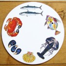 Richard Bramble Fish & Shellfish Tablemat