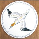 Gannet Diving Tablemat by Richard Bramble