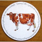 Guernsey Cow Tablemat by Richard Bramble