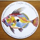 Richard Bramble John Dory Tablemat