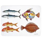 Richard Bramble Seafish Large Rectangular Tablemat
